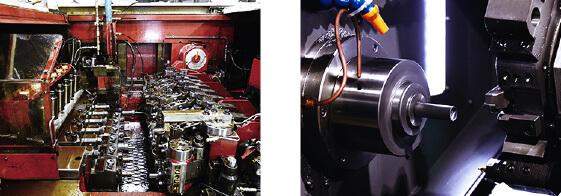部品高精度化のカギとなる「冷間鍛造+二次加工」 イメージ